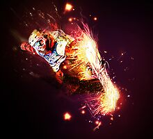 Fire boarder by EskimoGraphics