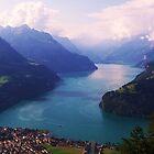 Swiss Mountain Lake by MichelleRees