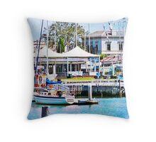 Williamstown, Victoria, Australia Throw Pillow