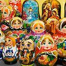 Matryoshka Dolls by Tracy Riddell