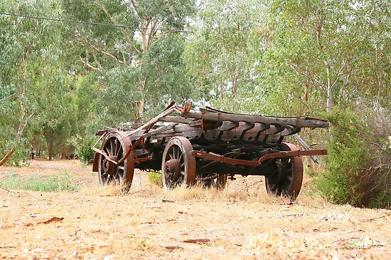 Cudlee Creek Wagon by Gail Mew
