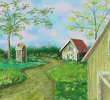 Country Barn by weirdpuckett