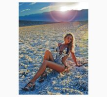 Jade on the Salt Flats by jadeamber
