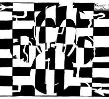 Monkey Maze Illusion by Yonatan Frimer