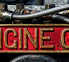 Detail from Engine 473 by Mitchell Tillison