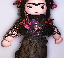 Frida Kahlo doll  by Virginia Valle