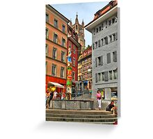 Picturesque square Greeting Card