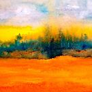 Landscape Abstract...Fantaisie by  Janis Zroback