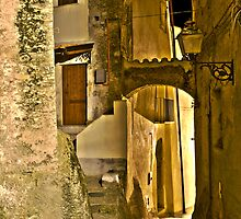 Streets of an Italian Village by Mario Curcio