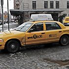NYC Dented Taxi by Ashley Salazar