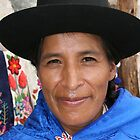 LADY FROM AYACUCHO by Christine Kradolfer