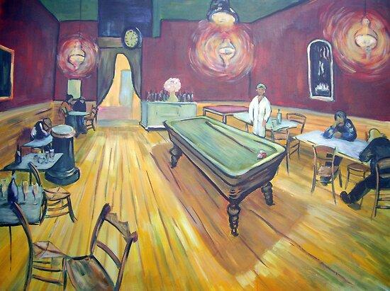 through the Artists eyes by robert (bob) gammage