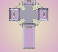 Celtic cross No. 3 by MarjorieB