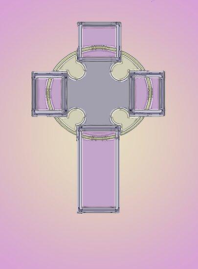 Celtic cross No. 3 by MarjorieB