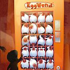 EggVend (20 Hens in a Vending Machine) by Donn Pattenden