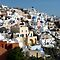 Beautiful Houses of Santorini by Lucinda Walter