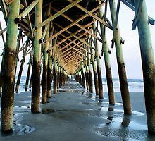 Isle of Palms Pier by Intheraine