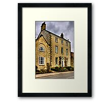 Town House - Helmsley (HDR) Framed Print