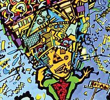 Picasso's Brain by robertemerald