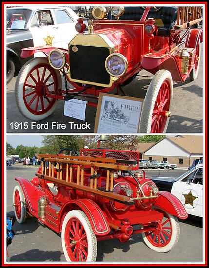 """1915 Ford """"American LaFrance"""" Fire Truck by TeeMack"""