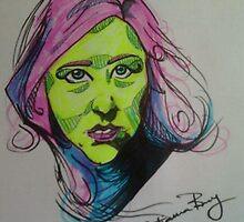 neon lynette k by Xtianna