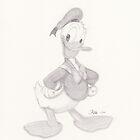 Donald Duck 01 by jayellbee