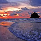 Costa Rican Sunset by Elizabeth Hoskinson