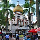 Singapore, Sultan Mosque 2 by Adri  Padmos