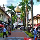 Singapore, Sultan Mosque 3 by Adri  Padmos