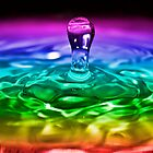 Water Drop Series 2 by Reza G Hassani