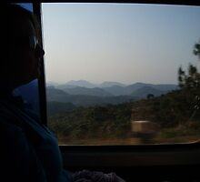 The traveller in a van. by erwina