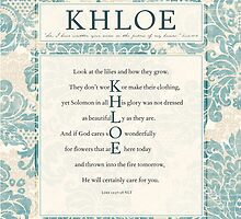 Khloe in the Word by Colleen Marquez