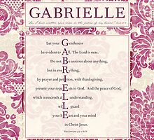 Gabrielle in the Word by Colleen Marquez