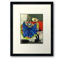 Mexican Dancers - Elegance and Magic Framed Print