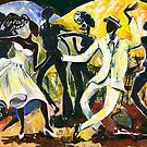 Dancers No. 1 - Saturday Nights Out by Elisabeta Hermann