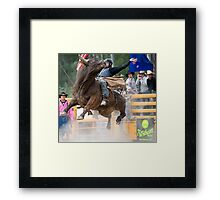 His mates love it! Framed Print
