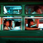 Chinatown Bus Bangkok by Stuart Wilson