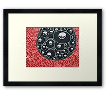 Nano Two - Life or death? Framed Print