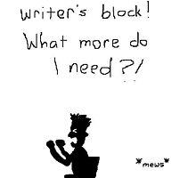 Writer's Block by Nebsy