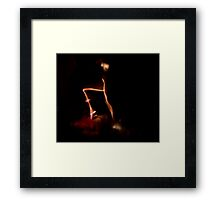 Mother and child 4    sep..arat....ion.... Framed Print
