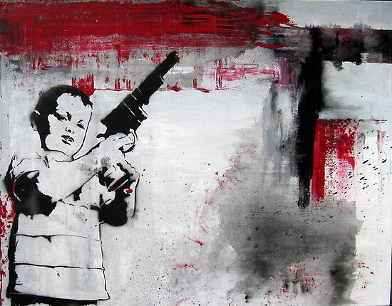 Gun II by Katie Robinson