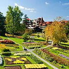 Mohonk Gardens by Claudia Kuhn