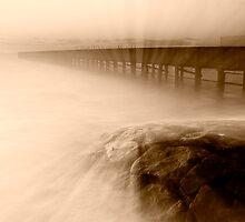 Dusk at Middle Brighton Baths #2 by Jason Green