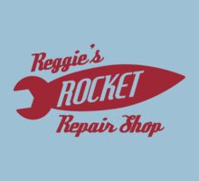 Reggie's Rocket repair shop by FlamingDerps