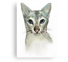 Barbara's Cat Canvas Print