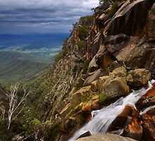 Crystal Brook Falls by Peter Hammer