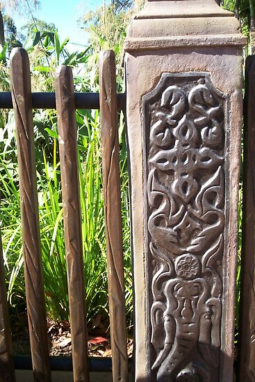 Ornamental Fence by Matthew Sims