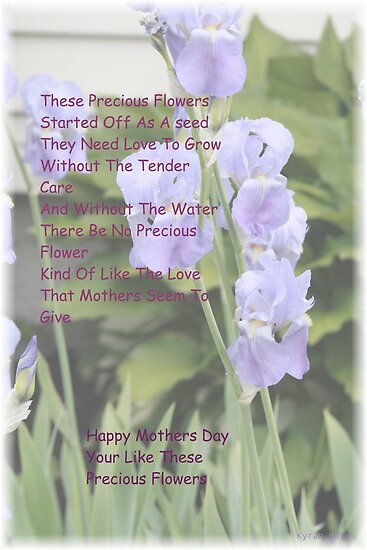 Mothers And Flowers by DreamCatcher/ Kyrah Barbette L Hale