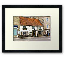 Pickwicks Bar  - Helmsley Framed Print