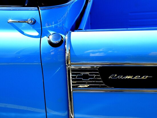 Blue With Chrome by artisandelimage
